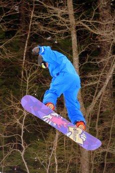 Alpine skiing in Nova Scotia